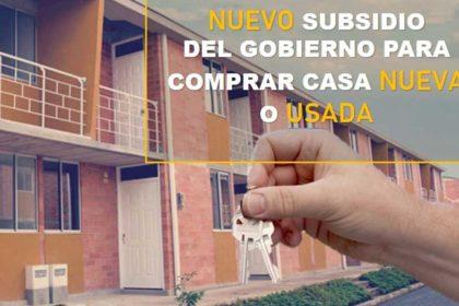 subsidios de vivienda con crédito hipotecario