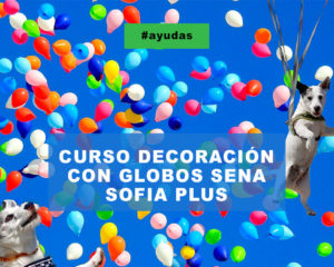 CURSO DECORACION CON GLOBOS SENA SOFIA PLUS