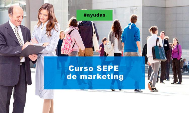 Curso SEPE de marketing