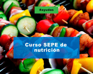 Curso de nutrición SEPE