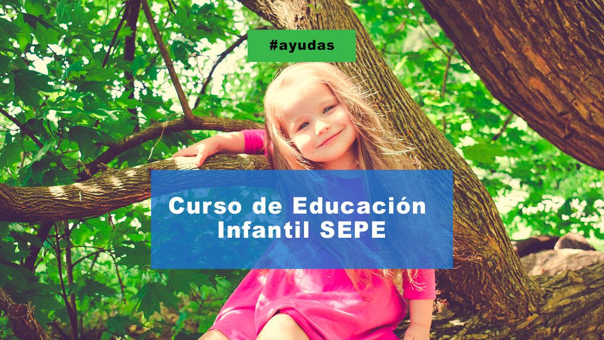 Curso de educación infantil SEPE