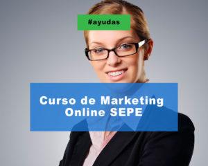 Curso de marketing online SEPE