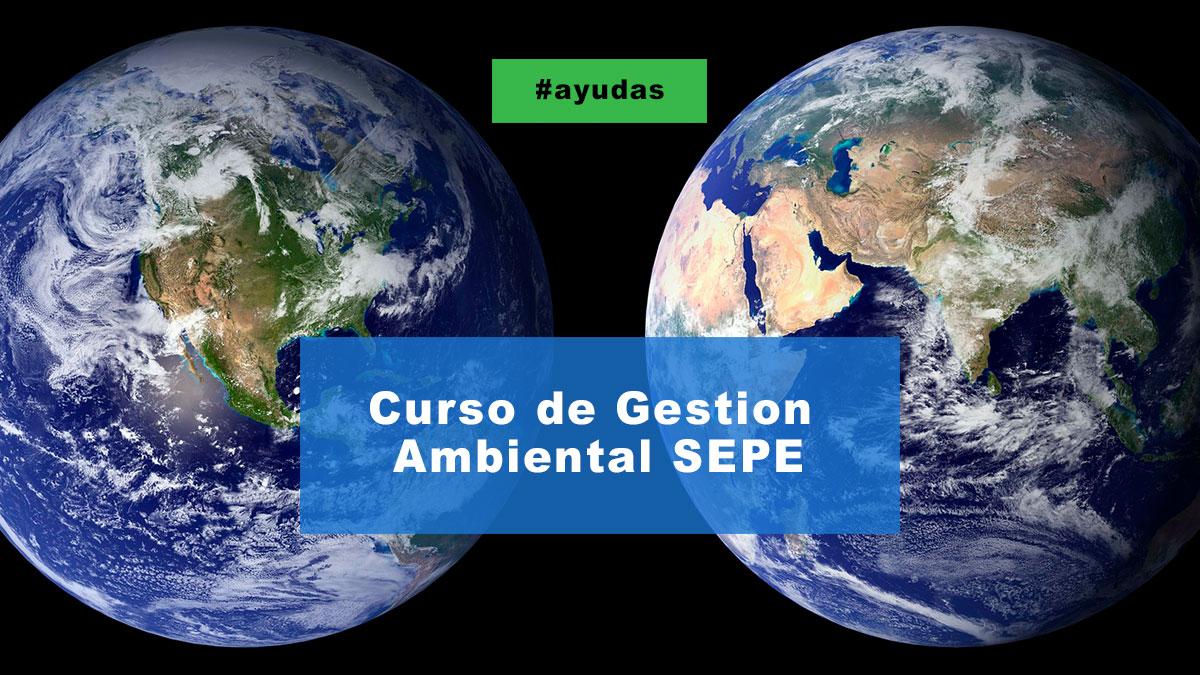 Curso de gestión ambiental SEPE