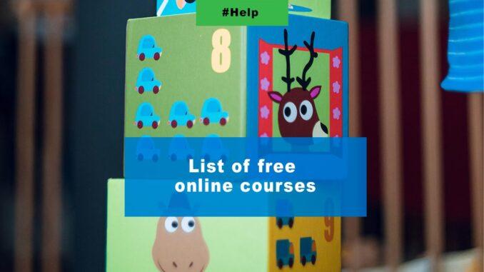 Рќисђљ List of free online courses сђЉ- MORE INFORMATION ЪЦЄ